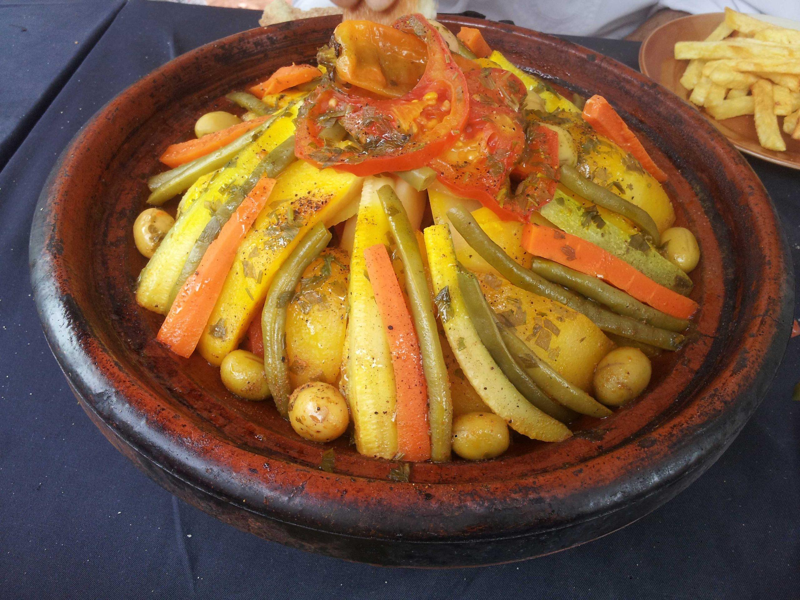 Moroccan tagine scaled - الطاجين المغربي