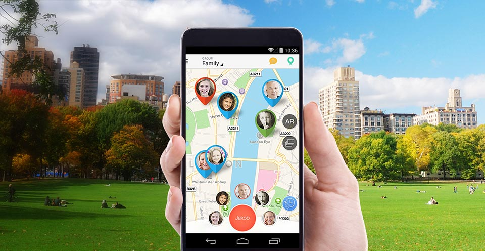 Family Locator2 - نظام تحديد المواقع
